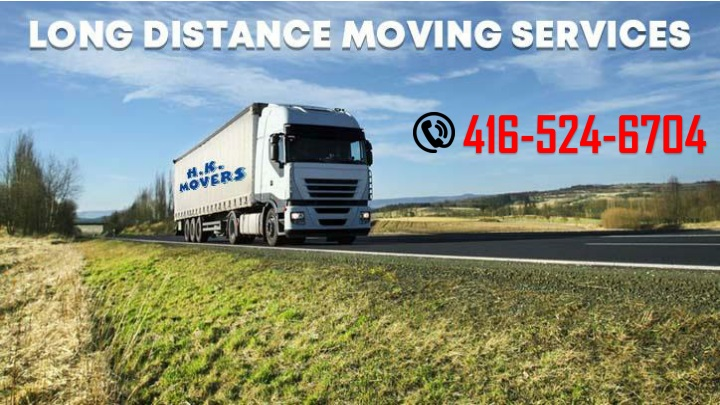 Long Distance Moving Services in Canada