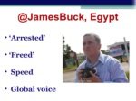 @jamesbuck egypt ul li arrested li ul ul li freed