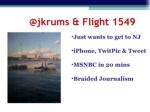@jkrums flight 1549 ul li just wants