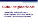 global neighborhoods ul li geography losing