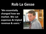 rob la gesse ul li we essentially changed