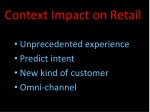 context impact on retail