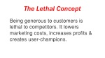 the lethal concept