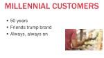 millennial customers