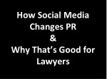 how social media changes pr why that s good