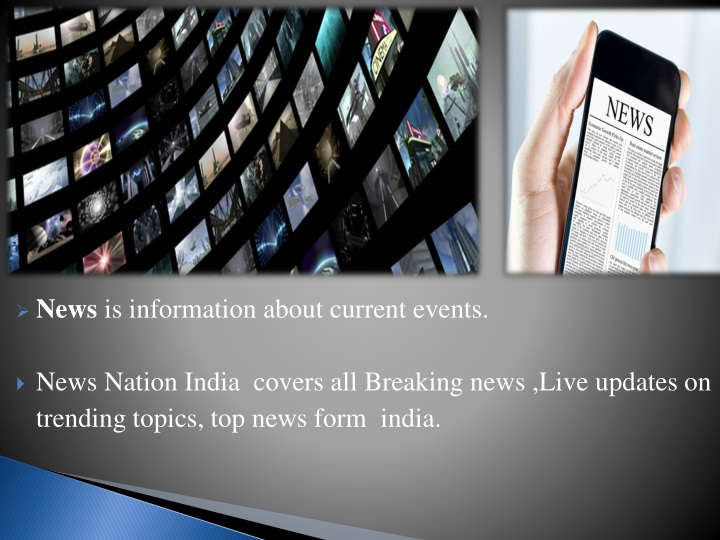 PPT - NEWS NATION INDIA PowerPoint Presentation - ID:8218808
