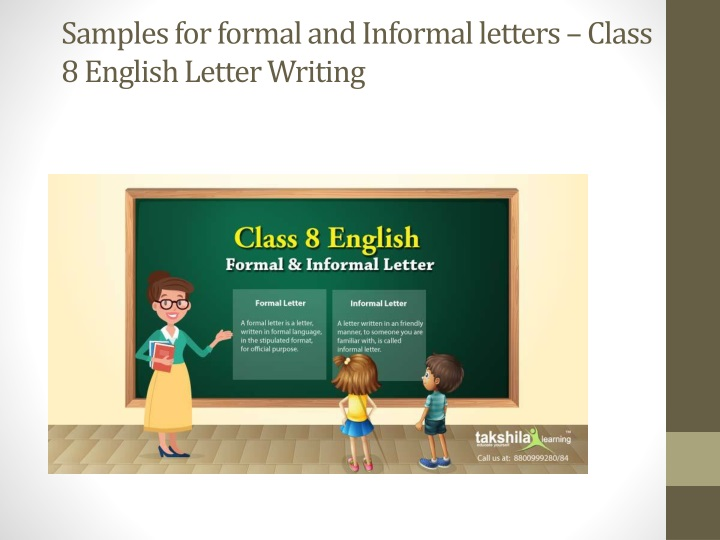 samples for formal and informal letters class 8 english letter writing n.