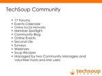 techsoup community ul ul li 17 forums