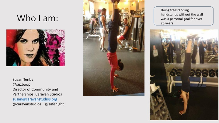 doing freestanding handstands without the wall n.