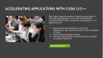 accelerating applications with cuda c c
