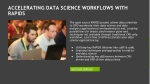 accelerating data science workflows with rapids