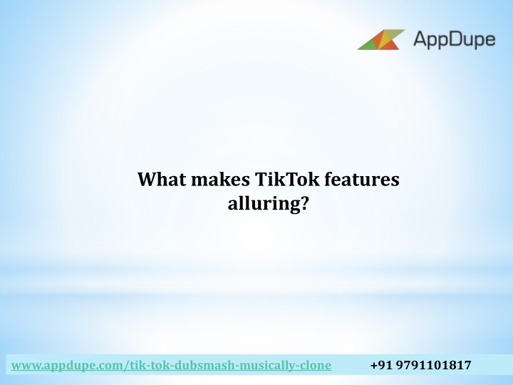 what makes tiktok features alluring n.