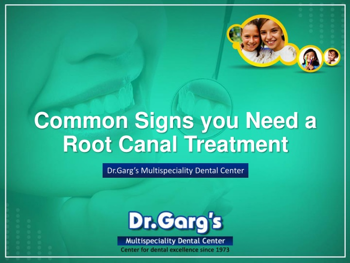 common signs you need a root canal treatment n.