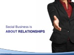 social business is about relationships