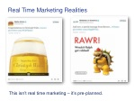 real time marketing realities