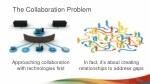 the collaboration problem