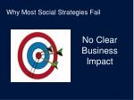 why most social strategies fail