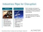 industries ripe for disruption