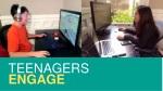 teenagers engage