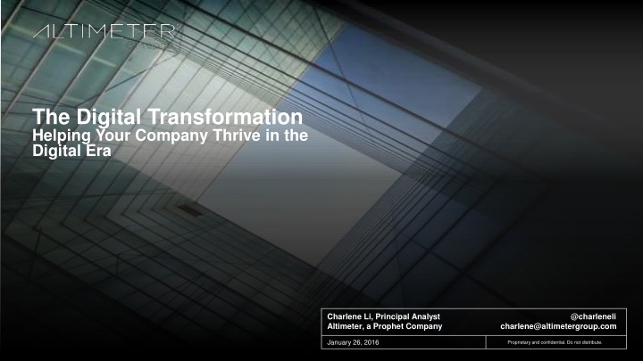 the digital transformation helping your company n.