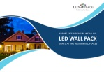 ensure safe parking by installing led wall pack