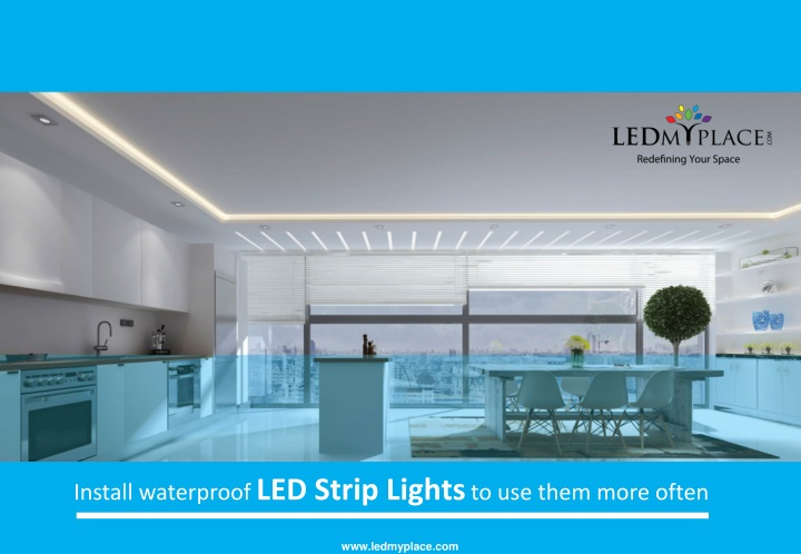 install waterproof led s trip l ights to use them n.