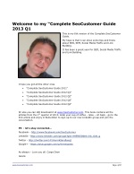 welcome to my complete seocustomer guide 2013 q1