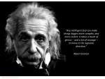 any intelligent fool can make things bigger more