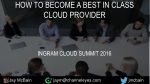 how to become a best in class cloud provider