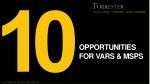 opportunities for vars msps