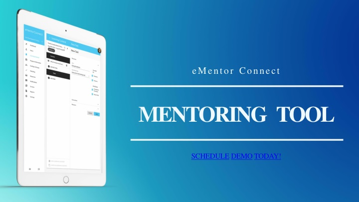 ementor connect mentoring tool schedule demo today n.