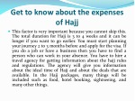 get to know about the expenses of hajj