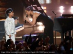 singer alicia keys performs with her son egypt