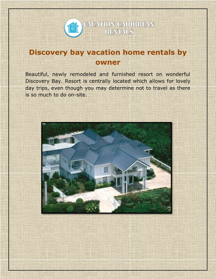discovery bay vacation home rentals by owner n.
