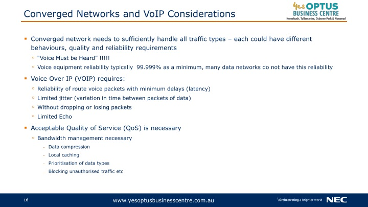 PPT - IP and VoIP Phone System Benefits_NEC SV9100 Phone