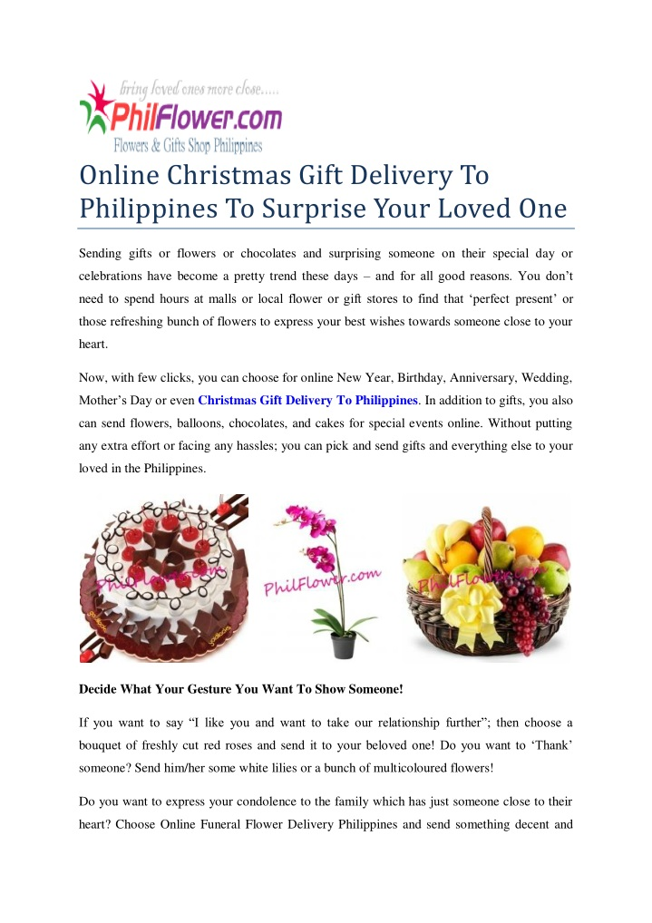 online christmas gift delivery to philippines n.