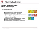 global challenges what is the vision of the world