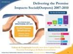 delivering the promise impacto social outputs