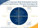 cultura coopera o multi stakeholders baseada