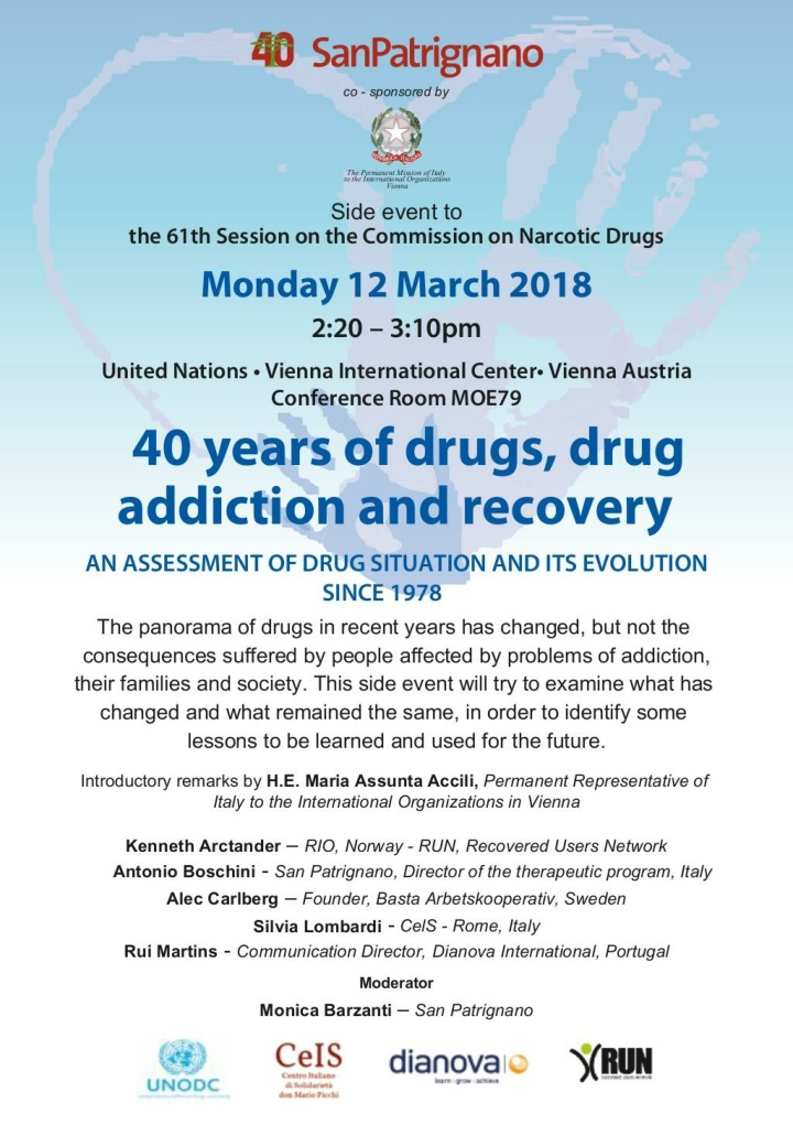 side event 40 years of drugs cnd undc 2018 n.