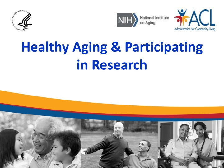 healthy aging participating in research n.