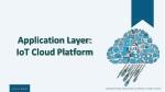 application layer iot cloud platform