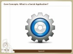 core concepts what is a social application