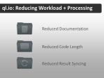 ql io reducing workload processing