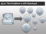 ql io the problem is api overload