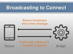 broadcasting to connect