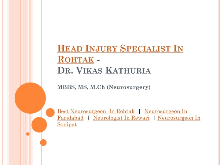 PPT - Head Injury Treatment In Rohtak and Gurgaon PowerPoint