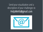 send your visualization and a description of your