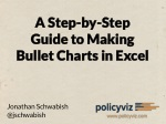 a step by step guide to making bullet charts