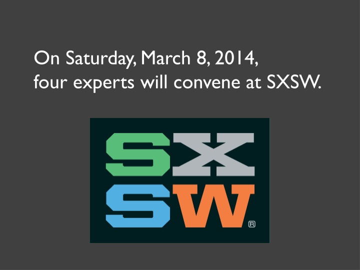 on saturday march 8 2014 four experts will n.